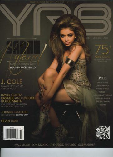 Issue 206 Who s Got Next Sarah Hyland 362x500 - Print Magazine Covers 1999-2018
