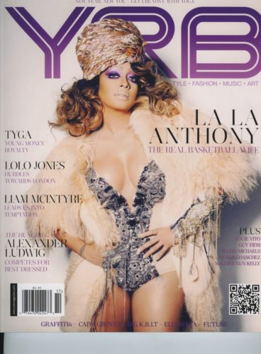 Issue 301 Health Issue La La Anthony 368x500 - Print Magazine Covers 1999-2018
