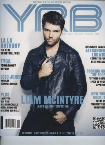 Issue 301 Health Issue Liam Mcintyre  362x500 - Print Magazine Covers 1999-2017