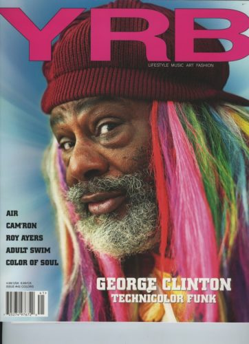 Issue 42 Colors George Clinton 362x500 - Print Magazine Covers 1999-2018