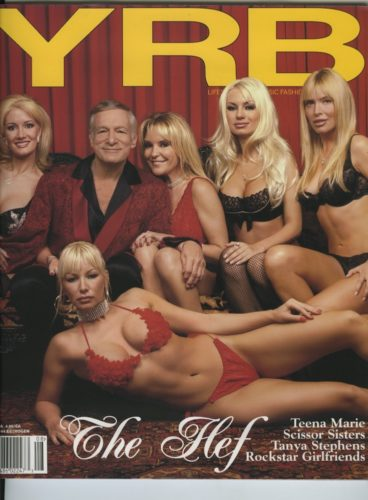 Issue 44 Estrogne Hugh Hefner 368x500 - Print Magazine Covers 1999-2017