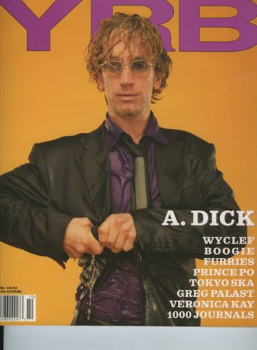Issue 45 Extream Andy Dick 368x500 - Print Magazine Covers 1999-2017