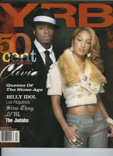 Issue 53 My June 2005 50 Cent and Olivia 362x500 - Print Magazine Covers 1999-2017