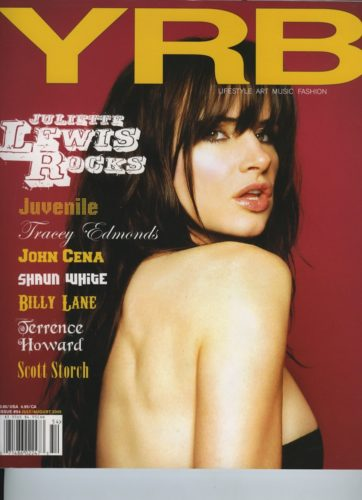 Issue 54 July August 2005 Juliette Lewis 362x500 - Print Magazine Covers 1999-2018