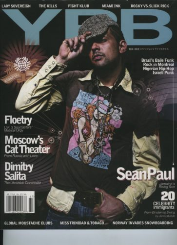 Issue 61 Local Global Sean Paul 363x500 - Print Magazine Covers 1999-2017