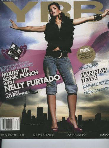 Issue 63 The 4 Elements Nelly Furtado 368x500 - Print Magazine Covers 1999-2017