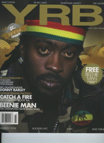 Issue 64 Roots Rock Reggae Bennie Man 363x500 - Print Magazine Covers 1999-2018