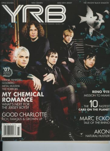 Issue 72 Spring Preview My Chemical Romance 363x500 - Print Magazine Covers 1999-2018