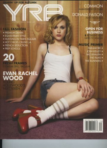Issue 75 Fall Issue Evan Rachel Wood 363x500 - Print Magazine Covers 1999-2017