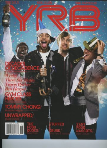 Issue 76 The Food Issue Gym Class Heroes  363x500 - Print Magazine Covers 1999-2018