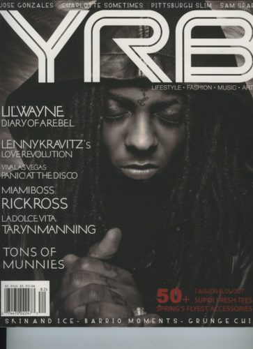 Issue 82 The Fashion Issue Lil Wayne 363x500 - Print Magazine Covers 1999-2017