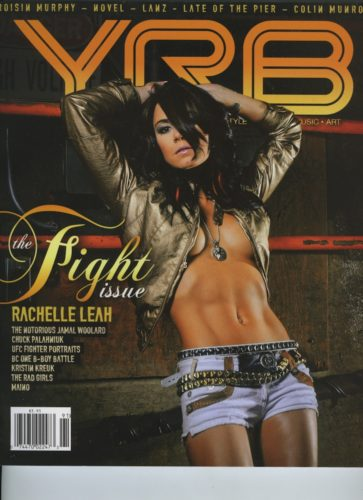Issue 91Fight Issue Rachelle Leah 363x500 - Print Magazine Covers 1999-2017