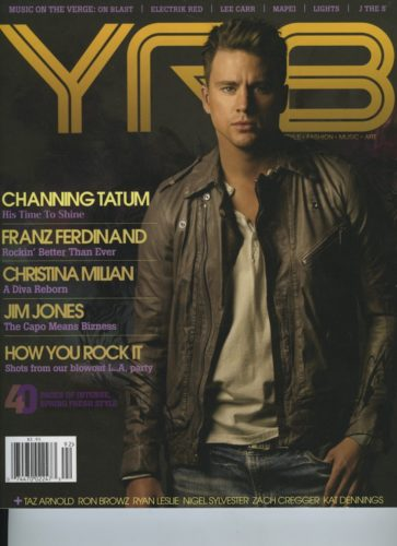 Issue 92 Spring Style Issue Channing Tatum 363x500 - Print Magazine Covers 1999-2017