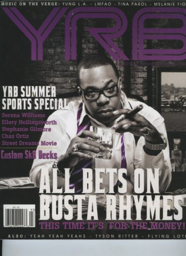 Issue 93 Summer Sport Busta Rhymes 363x500 - Print Magazine Covers 1999-2018