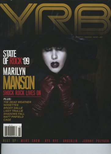 Issue 94 Rock Issue Marilyn Manson 363x500 - Print Magazine Covers 1999-2018
