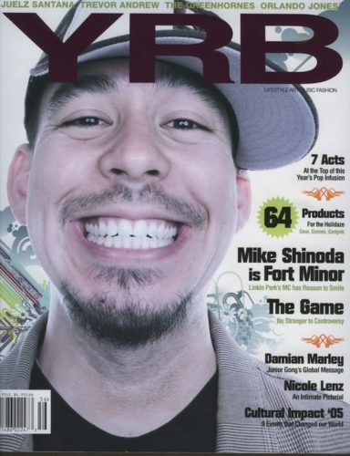 Mike Shinoda is Fort Minor 384x500 - Print Magazine Covers 1999-2017