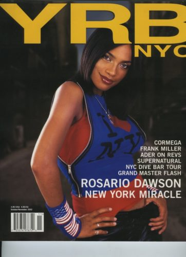 October November 2002 Rosario Dawson  362x500 - Print Magazine Covers 1999-2017