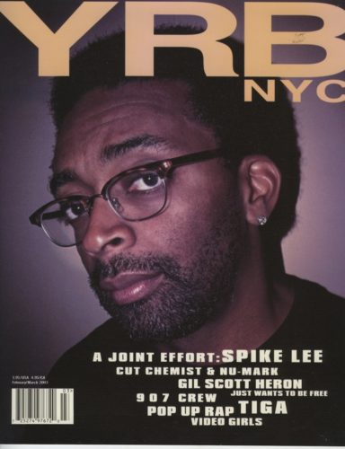 Spike Lee 384x500 - Print Magazine Covers 1999-2018