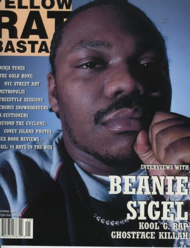 Spring 2002 Beanie Sigel 384x500 - Print Magazine Covers 1999-2018