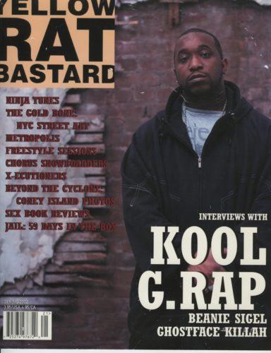 Spring 2002 Kool G. Rap 384x500 - Print Magazine Covers 1999-2017