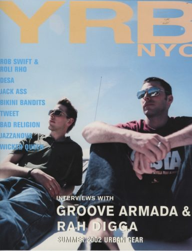 Summer 2002 Urban Gear Groove Armada 384x500 - Print Magazine Covers 1999-2018