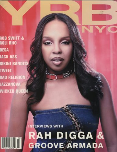 Summer 2002 Urban Gear Rah Digga  384x500 - Print Magazine Covers 1999-2018
