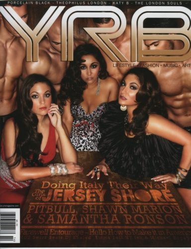 The Girls of Jersey Shore 384x500 - Print Magazine Covers 1999-2017