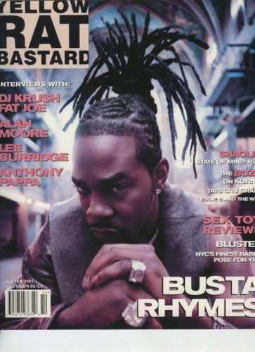 Winter 2001 Busta Rhymes 363x500 - Print Magazine Covers 1999-2017