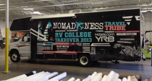 nomad1 300x160 - Nomadness RV College Takeover 2013 Episode 2 @nomadnesstribe @evierobbie #travel #video