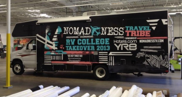 nomad1 620x330 - Nomadness RV College Takeover 2013 Episode 2 @nomadnesstribe @evierobbie #travel #video