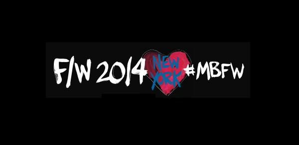 fashion week 2014 mbfw logo - MBFW FALL 2014 COLLECTIONS LIVE STREAM @mbfashionweek #mbfw #nyfw