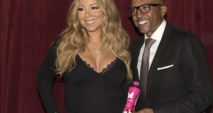 """MC LAUNCH  300x160 - Event Recap @MARIAHCAREY announced  launch of Her GO N'SYDE BOTTLE """"BUTTERFLY"""" with Creative Director @KEVINLILES"""