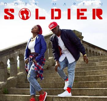 dora4 350x330 - #BrandNew Visual Premiere of #SOLDIER by London Duo @weareDoraMartin.
