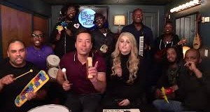 """Unknown 2 300x160 - Jimmy Fallon, Meghan Trainor & The Roots Sing """"#AllAboutThatBass""""@Meghan_Trainor @jimmyfallon @theroots @questlove"""