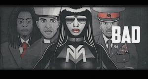 nicki minaj only lyric video 300x160 - Nicki Minaj - Only ft. Drake, Lil Wayne, Chris Brown @NICKIMINAJ @Drake @LilTunechi @chrisbrown
