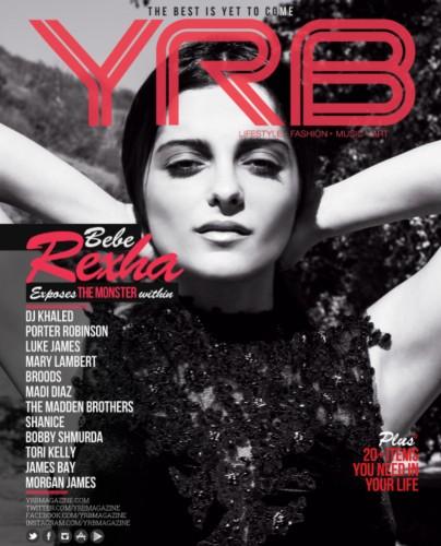 Bebe Rexha 404x500 - Print Magazine Covers 1999-2017