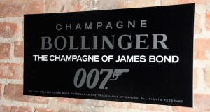 Signage at Champagne Bollinger hosted SPECTRE after party 300x160 - Event Recap: Champagne Bollinger x James Bond #SPECTRE Screening @007 @BollingerUK @TheLionNYC #Spectre007