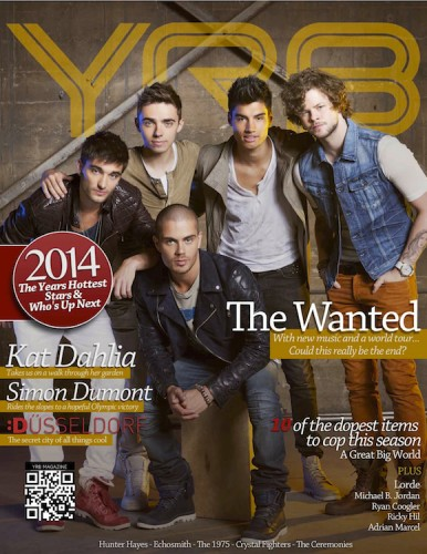 YRB The wanted 1 386x500 - Print Magazine Covers 1999-2018