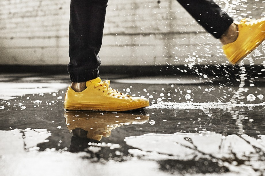 CTAS Rubber Ox   Yellow Puddle Splash 34074 920x613 - #StyleWatch: Converse Rubber Sneakers Now Available in Low Tops @Converse