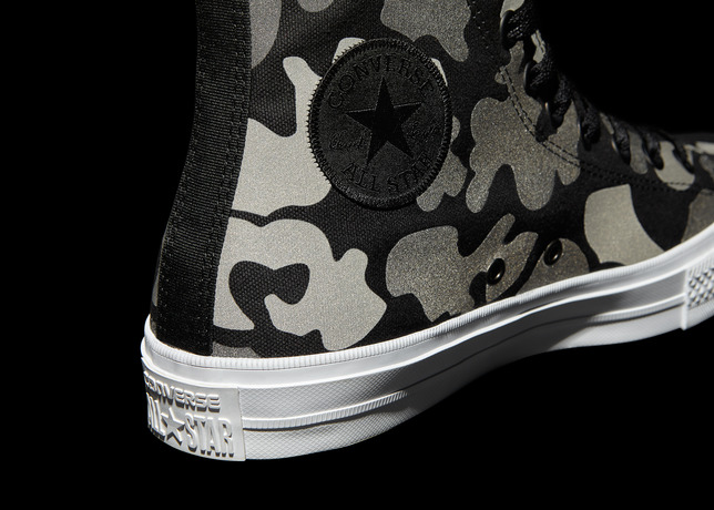 Converse Chuck Taylor All Star II Reflective Camo   Detail large - #StyleWatch: Converse Chuck Taylor All Star II Reflective @Converse #ChuckII