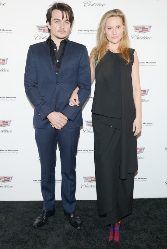 Aimee Mullins and Rupert Friend MadisonMcgaw BFA.com  540x808 - Event Recap: Letters to Andy Warhol opening at Cadillac House #CadillacxWarhol @Cadillac @TheWarholMuseum