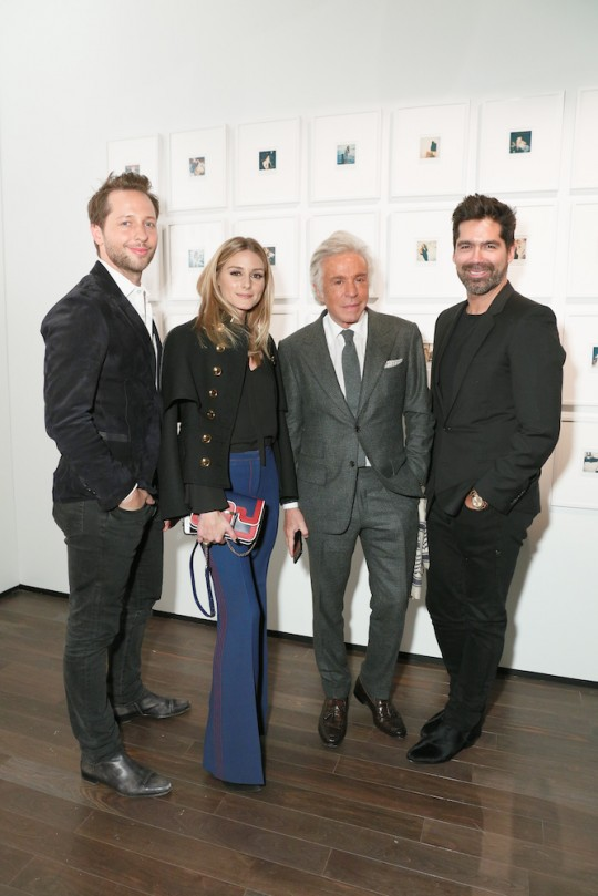 Derek Blasberg Olivia Palermo Giancarlo Giammetti Brian Atwood MatteoPrandoni BFA.com  540x809 - Event Recap: Letters to Andy Warhol opening at Cadillac House #CadillacxWarhol @Cadillac @TheWarholMuseum