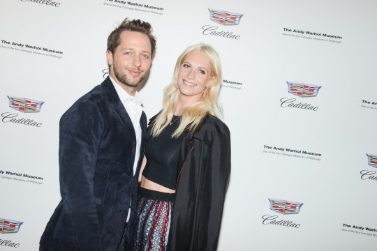 Derek Blasberg and Poppy Delevingne BFA.com  540x360 - Event Recap: Letters to Andy Warhol opening at Cadillac House #CadillacxWarhol @Cadillac @TheWarholMuseum