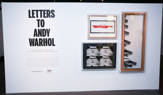 Letters to Andy Warhol 1 ShaneDrummond BFA.com  540x317 - Event Recap: Letters to Andy Warhol opening at Cadillac House #CadillacxWarhol @Cadillac @TheWarholMuseum