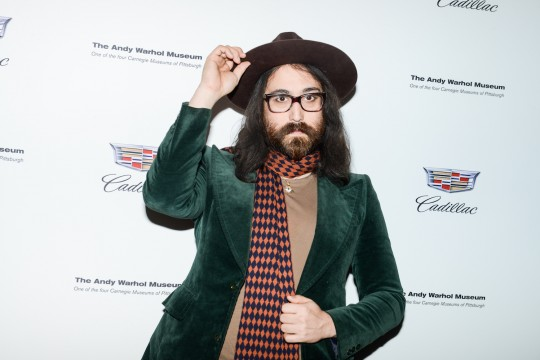 Sean Lennon  MadisonMcgaw BFA 540x360 - Event Recap: Letters to Andy Warhol opening at Cadillac House #CadillacxWarhol @Cadillac @TheWarholMuseum