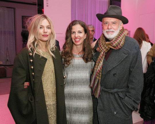 Sienna Miller Chiara Clemente Francesco Clemente MatteoPrandoni BFA.com  540x432 - Event Recap: Letters to Andy Warhol opening at Cadillac House #CadillacxWarhol @Cadillac @TheWarholMuseum