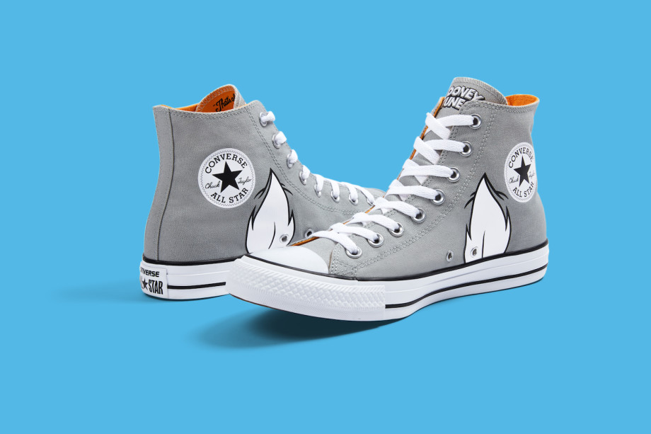 CN NY J17 004 GREYHIGH RGB 150DPI V2simple BLUE 920x613 - #StyleWatch: @Converse Chuck Taylor All Star Looney Tunes collection