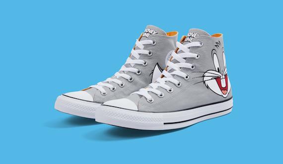 CN NY J17 004 GREYHIGHsidebyside RGB 150DPI V2simple BLUE 570x330 - #StyleWatch: @Converse Chuck Taylor All Star Looney Tunes collection