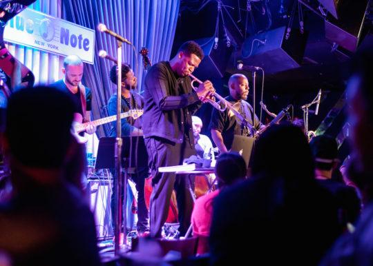 2017 09 24 KEYON HARROLD BLUENOTE 18 1 540x386 - Event Recap: Keyon Harrold album release performance at the BlueNote @keyonharrold @MassAppealRecs @ShoreFire #Mugician