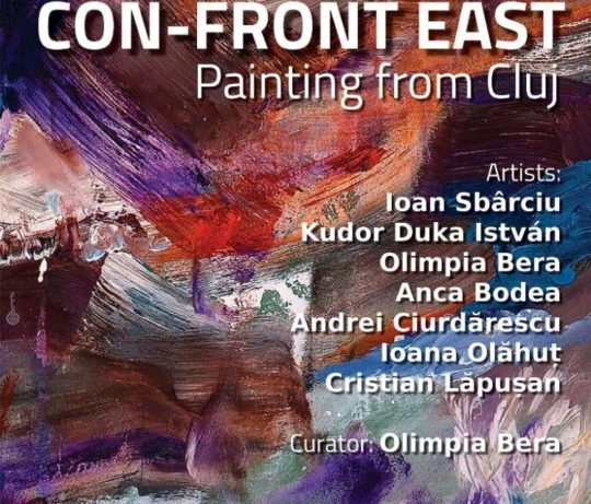 CON FRONT EAST Painting from Cluj Napoca @ Gallery RIVAA New York 750x640 540x461 - CON-FRONT EAST Exhibition November 4- November 26, 2017 at GALLERY RIVAA @icrny #rivaa #rooseveltisland